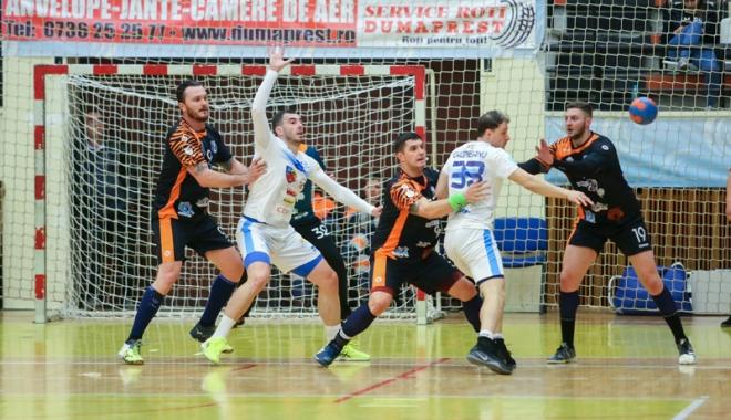Foto: HC Dobrogea Sud a pierdut finala mică  a Ligii Naţionale. Scandal în ultimul minut!