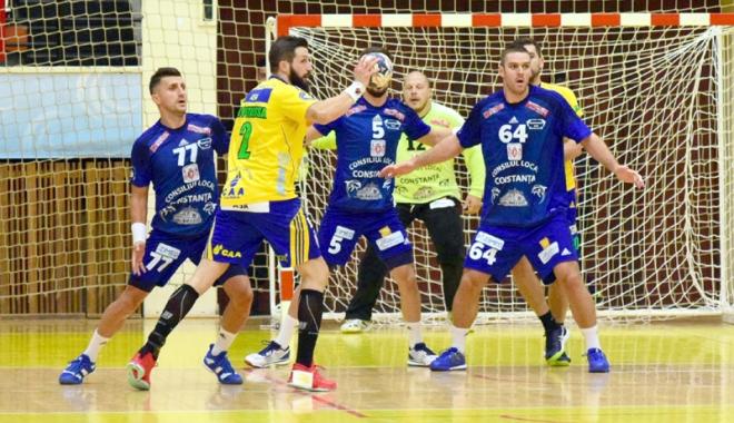 Foto: HC Dobrogea Sud, primul meci cu Sandu Iacob pe bancă