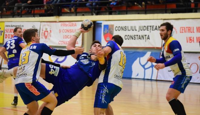 Foto: Adversar accesibil pentru HC Dobrogea Sud Constanţa, în sferturile Cupei României