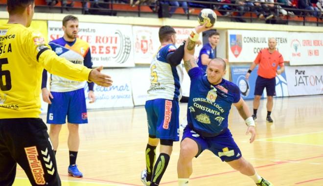 Foto: HC Dobrogea Sud, cale liberă spre Final Four-ul Cupei României