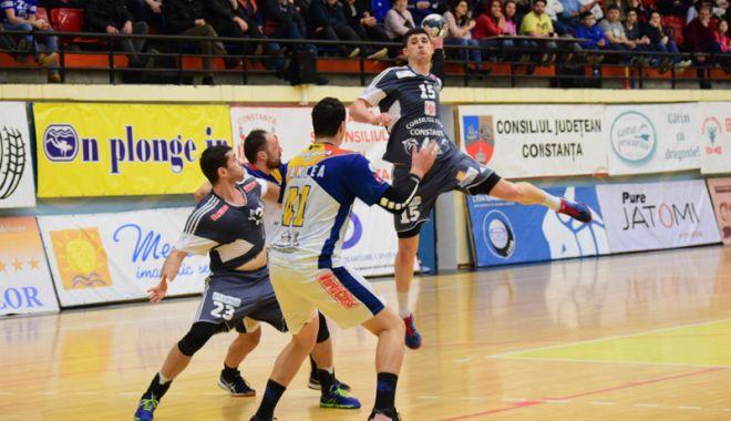 Foto: HC Dobrogea Sud Constanţa, gata de derby-ul cu Dinamo Bucureşti