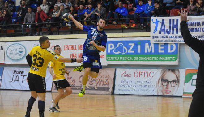 Foto: HC Dobrogea Sud a pierdut derby-ul cu Potaissa Turda