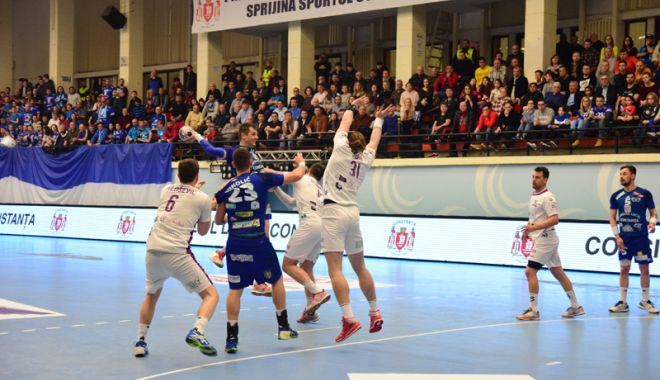 Foto: HC Dobrogea Sud,  în faţa ultimului duel din sezonul regulat