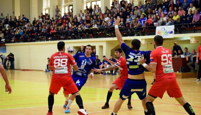 """Foto: HC Dobrogea Sud, toate energiile către """"sfertul"""" cu Dinamo. """"Suntem pregătiţi!"""""""