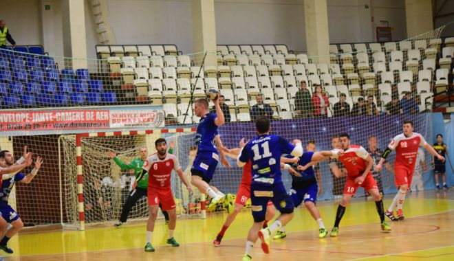 Foto: HC Dobrogea Sud pierde  la Călăraşi. E egal la general!