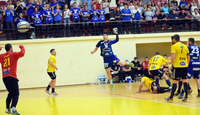 Foto: HC Dobrogea Sud, ultimul meci al sezonului, la Sala Sporturilor