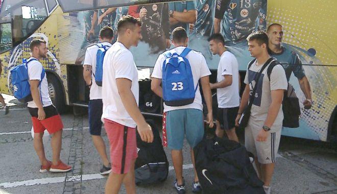 Foto: HC Dobrogea Sud, trei amicale cu echipe puternice, în cantonamentul din Slovenia