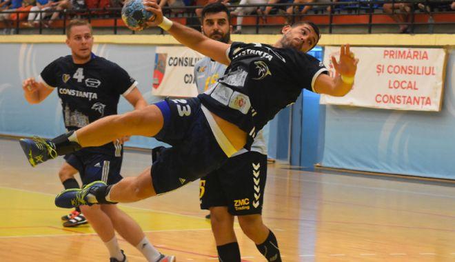 Foto: HC Dobrogea Sud forţează accesul în grupele Cupei EHF