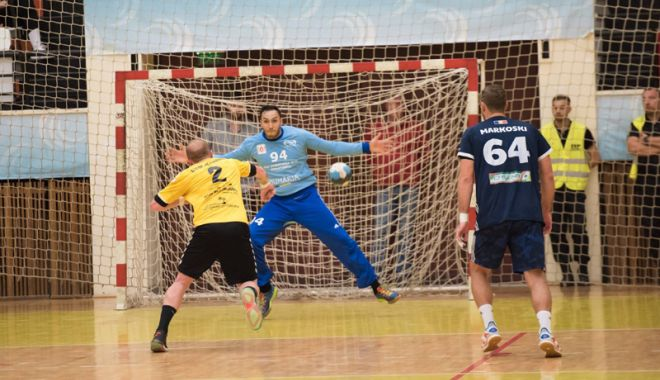 """Foto: HC Dobrogea Sud, mega-duel pentru """"sferturile""""  Cupei României, cu Steaua Bucureşti"""