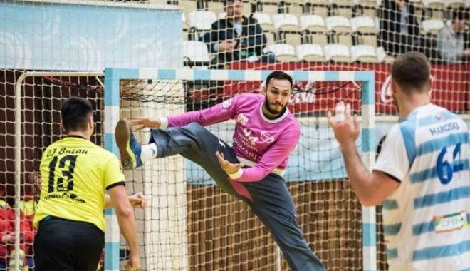 Foto: HC Dobrogea Sud, victorie mare în derby-ul cu Dunărea Călăraşi