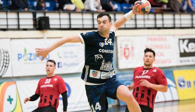 """Foto: HC Dobrogea Sud, la a 18-a victorie în campionat. """"Suntem pe primul loc!"""""""