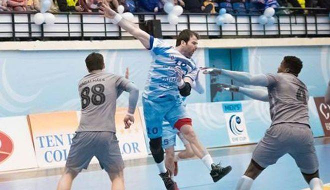 """Foto: HC Dobrogea Sud, """"misiune imposibilă"""" la Porto, în Cupa EHF"""