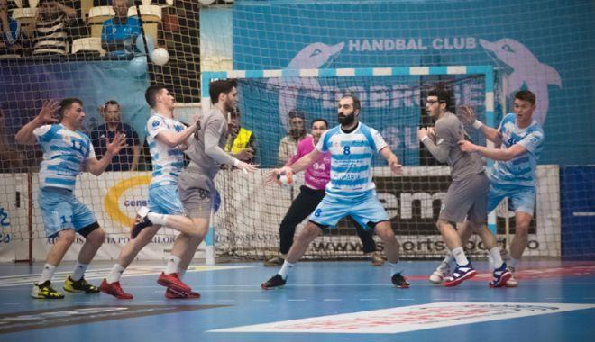 Foto: HC Dobrogea Sud părăseşte Cupa EHF cu capul sus
