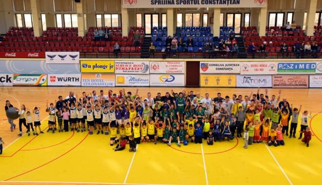 Foto: HC Dobrogea Sud a încheiat anul cu o calificare în Final Four-ul Cupei României