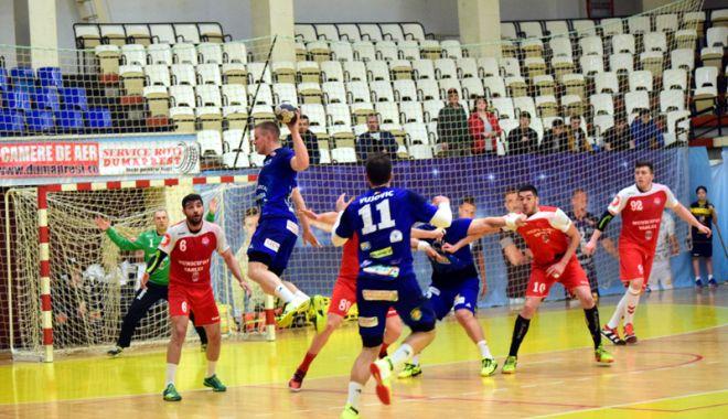 Foto: HC Dobrogea Sud a trecut de HC Vaslui şi este cu gândul la play-off
