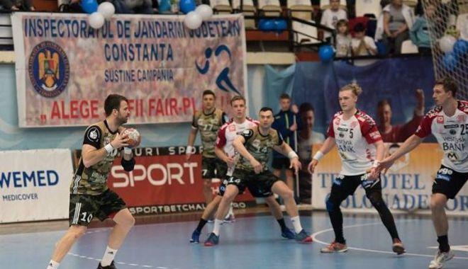 Foto: Învinsă de danezi! HC Dobrogea Sud, ca şi eliminată din Cupa EHF