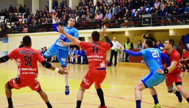 Foto: HC Dobrogea Sud, victorie ca-n vremurile de aur. Calificarea se decide la Odorhei