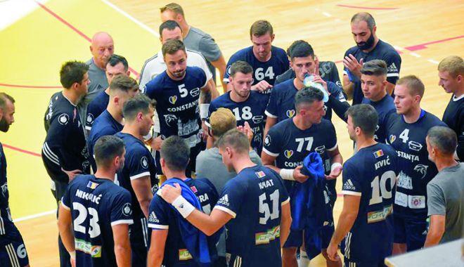 Foto: HC Dobrogea Sud îşi prezintă oficial lotul de jucători