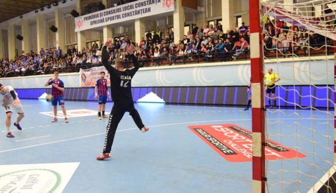 Foto: HC Dobrogea Sud, mare favorită în duelul cu CSM Făgăraş