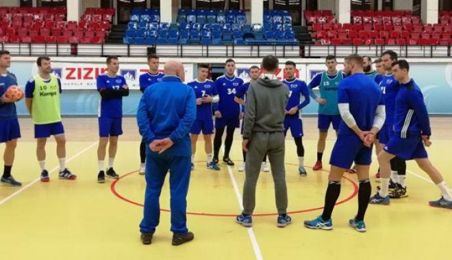 """HC Dobrogea Sud şi-a reluat antrenamentele. """"Ne dorim şi titlul, şi Cupa EHF"""""""