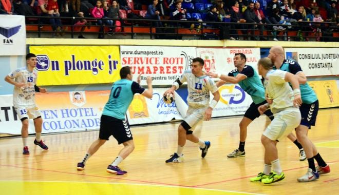 Foto: Primul meci oficial al anului pentru HC Dobrogea Sud, mutat o zi mai devreme