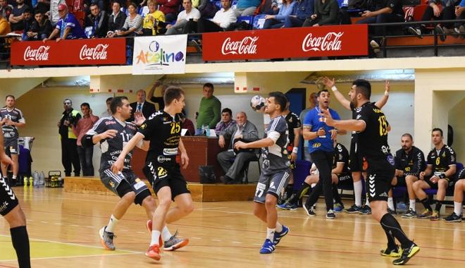 Foto: HC Dobrogea Sud, victorie importantă înaintea returului cu SC Magdeburg