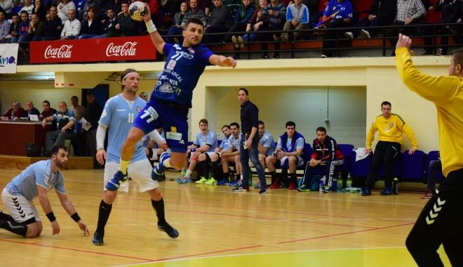 Foto: HC Dobrogea Sud Constanţa joacă, astăzi, în optimile Cupei României