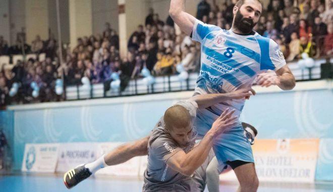 Foto: HC Dobrogea Sud se impune la Timişoara, înaintea duelului cu Liberbank Cuenca