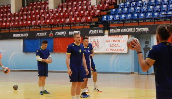 Foto: Pregătire în format restrâns! HC Dobrogea Sud are 12 jucători la loturile naționale