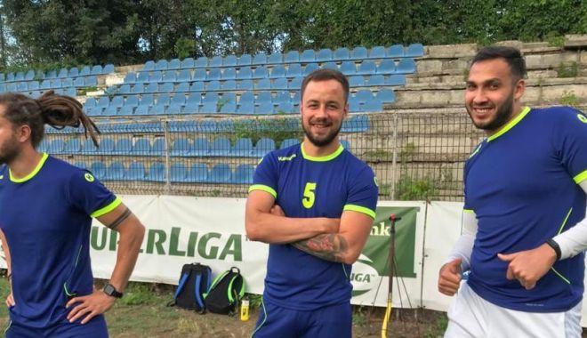 """Foto: HCDS continuă pregătirea la Constanța. Ion Crăciun: """"Îmi doresc ca echipa să lupte pentru titlu!"""""""