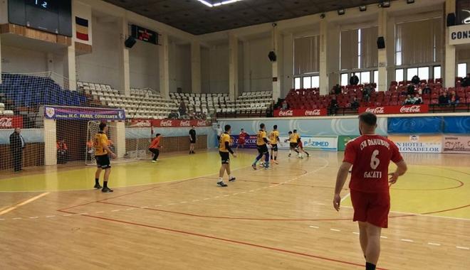 Foto: HC Farul Constanţa a devenit liderul ligii secunde