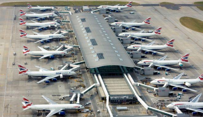 Foto: ATACUL DRONELOR, episodul 2, la Londra. Zborurile au fost suspendate o oră pe Heathrow