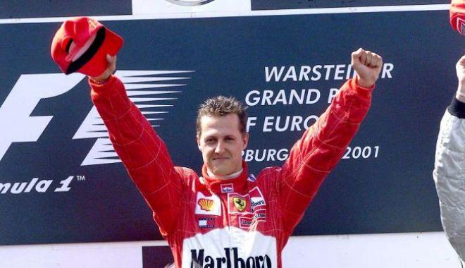 Foto: Veste IMPORTANTĂ despre Schumacher! A URMĂRIT prima EMISIUNE la TV