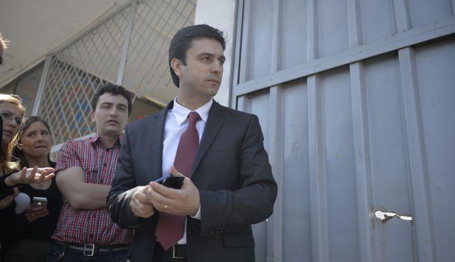 Foto: Fostul şef al Poliţiei Române Cătălin Ioniţă, audiat la DNA