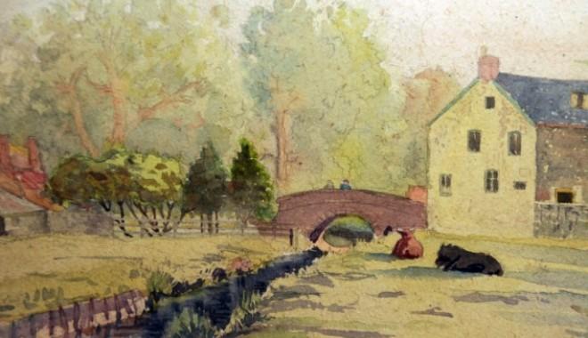 Foto: Se vând şapte tablouri  pictate de Hitler