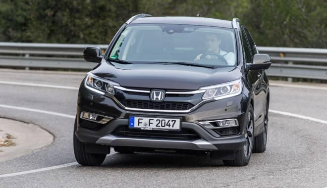 Foto: Noul CR-V, Honda mizează pe putere şi siguranţă
