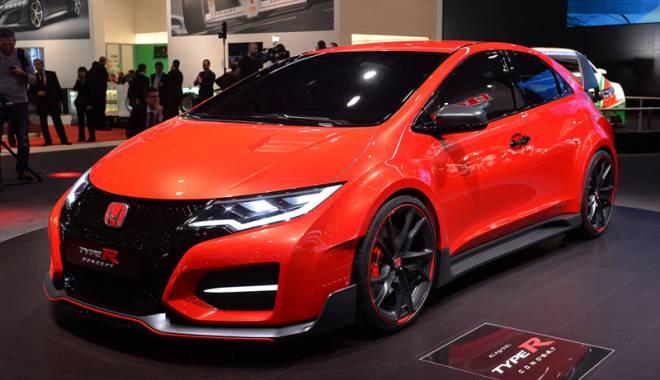 Foto: Honda lansează  în România noile modele Type R, HR-V şi Jazz