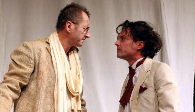 Foto: Hora�iu M�l�ele,  pe scena Teatrului de Var� Jupiter
