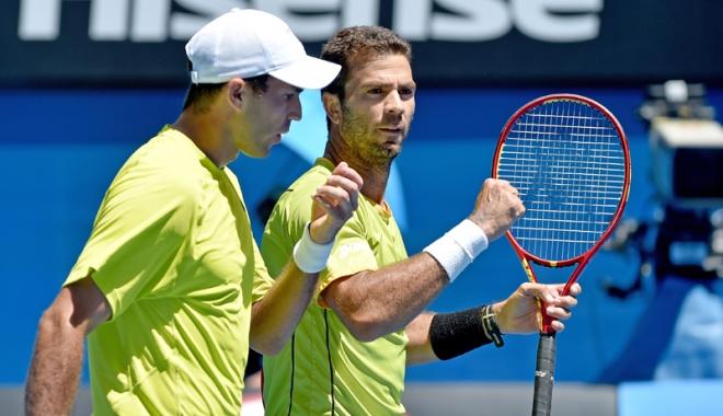 Foto: Tecău şi Rojer, calificaţi în semifinalele turneului de la Sydney