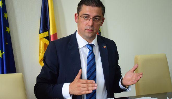 Foto: Președintele CJC, Marius Horia Ţuţuianu, şi-a prezentat realizările din actualul mandat