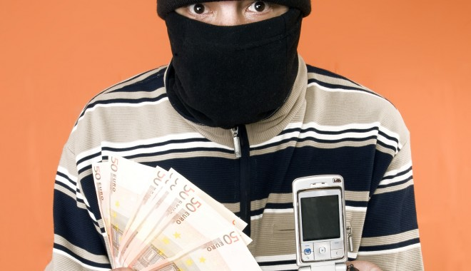 Foto: Hoţ de telefoane, prins la Vama Veche