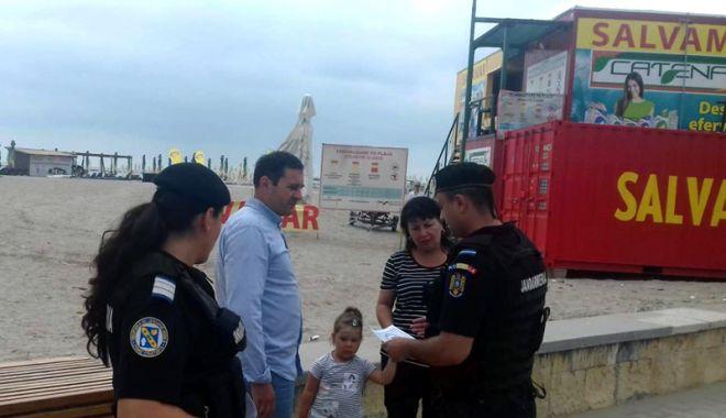 Foto: Atenţie la hoţi! Campanie de prevenire a furturilor, pe litoral