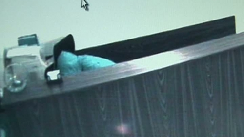 Foto: Jaf în 30 de secunde la un notariat din Constanţa VIDEO