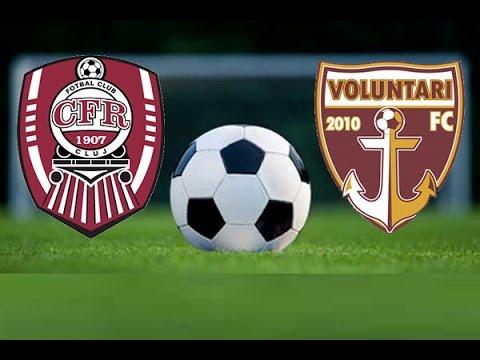 Foto: CFR Cluj a învins-o pe FC Voluntari. Iată scorul final