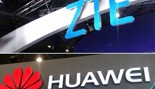 Foto: Japonia interzice echipamentele Huawei şi ZTE