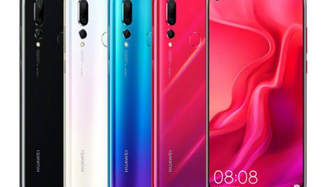 Foto: Huawei Nova 4, primul telefon cu cameră foto de 48 megapixeli