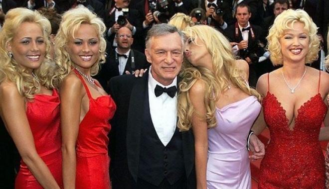 Foto: A MURIT Hugh Hefner, fondatorul celebrei reviste Playboy