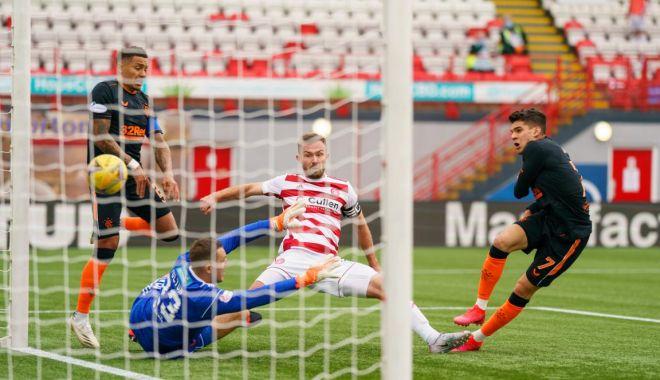 Ianis Hagi a înscris un gol în meciul dintre Rangers și Hamilton - ianis-1598784199.jpg