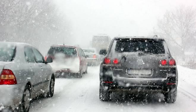 Foto: CONSTANŢA, sub avertizare de ninsori abundente. Zăpadă de 20 de cm