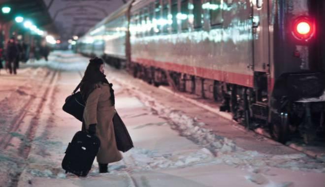 Foto: CFR Călători. Trenurile circulă pe toate magistralele feroviare